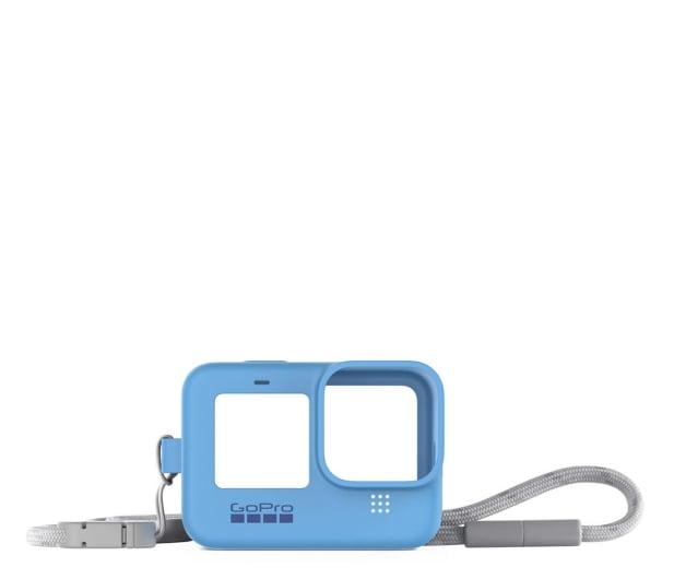 GoPro Silikonowe Etui do HERO9 Black niebieskie - 618434 - zdjęcie