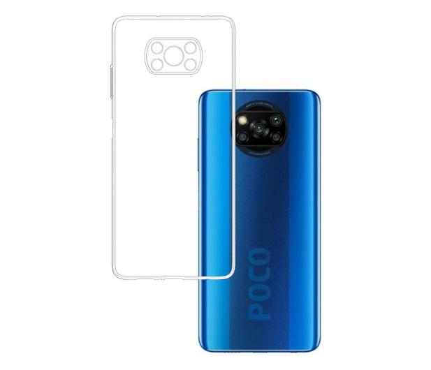 3mk Clear Case do Xiaomi POCO X3/X3 Pro - 618202 - zdjęcie
