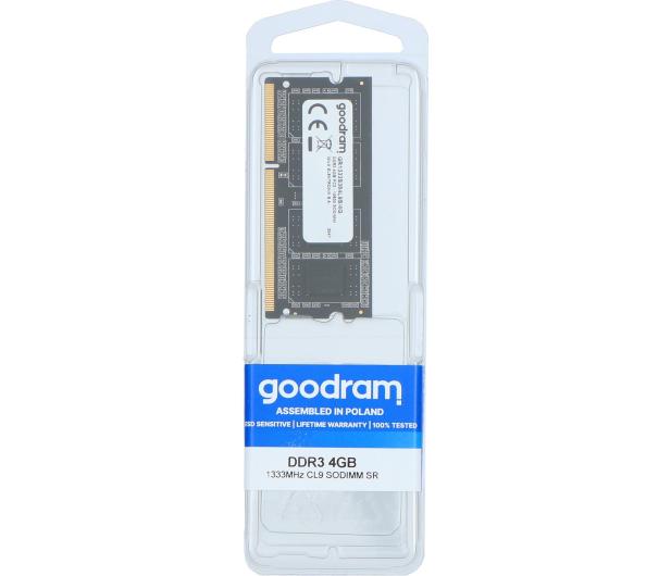 GOODRAM 4GB (1x4GB) 1333MHz CL9 SR - 420891 - zdjęcie 3