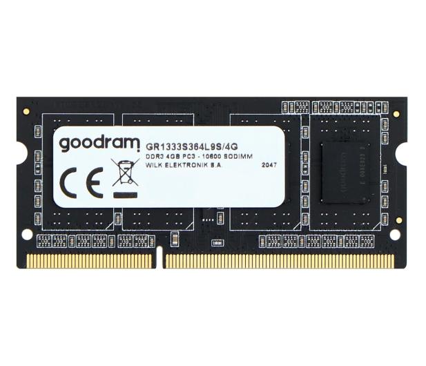 GOODRAM 4GB (1x4GB) 1333MHz CL9 SR - 420891 - zdjęcie