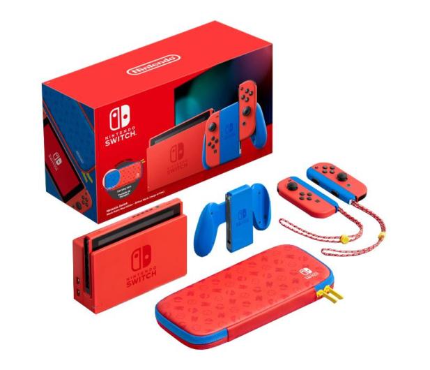 Nintendo Switch Joy-Con - Mario Edition - 629884 - zdjęcie 2