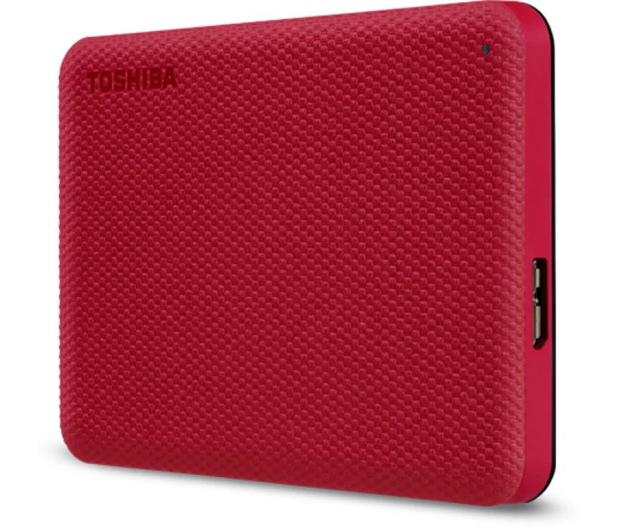 Toshiba Canvio Advance 2TB USB 3.2 Czerwony - 625824 - zdjęcie 3