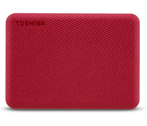 Toshiba Canvio Advance 2TB USB 3.2 Czerwony - 625824 - zdjęcie