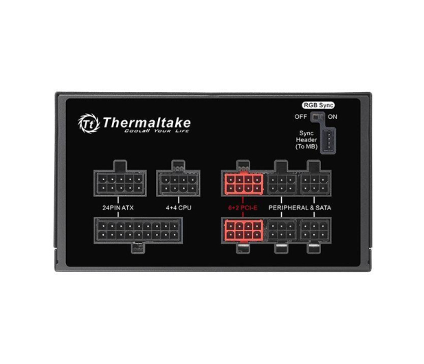 Thermaltake Toughpower Grand RGB 750W 80 Plus Gold - 627428 - zdjęcie 2