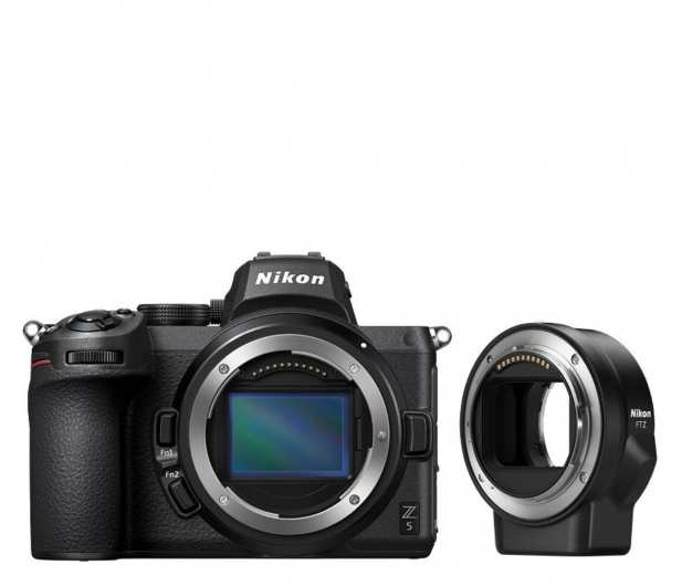Nikon Z5+ adapter FTZ - 625885 - zdjęcie