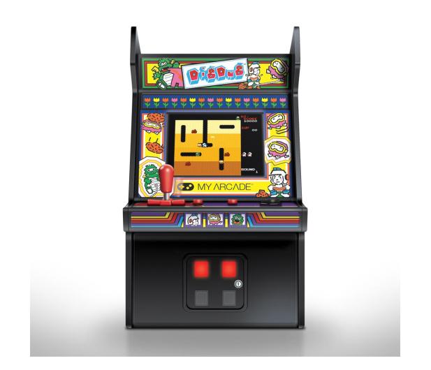 My Arcade Collectible Retro DIG DUG MICRO PLAYER - 631017 - zdjęcie 2