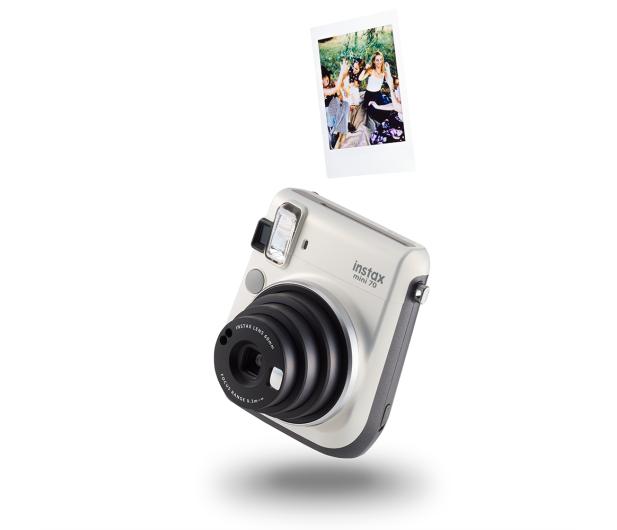Fujifilm Instax Mini 70 biały+ wkłady 2x10+ etui niebieskie - 619881 - zdjęcie 5