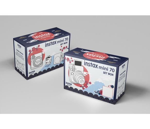 Fujifilm Instax Mini 70 złoty+ wkłady 2x10+ etui białe - 629575 - zdjęcie 8
