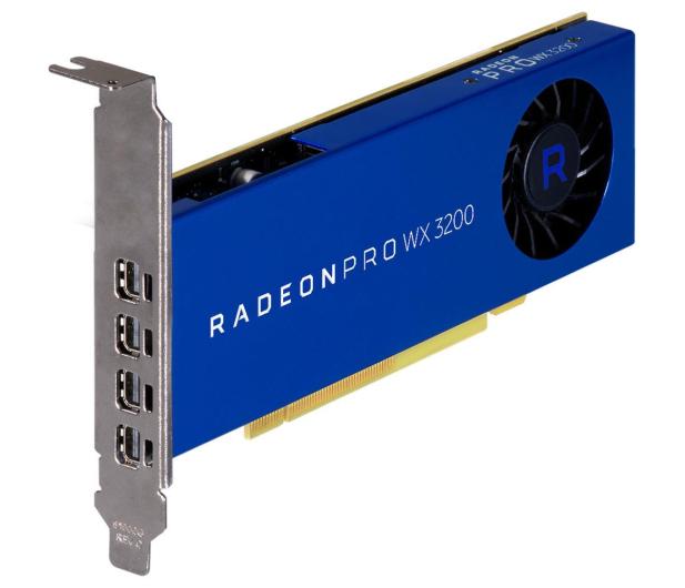AMD Radeon Pro WX 3200 4GB GDDR5 - 526876 - zdjęcie 2
