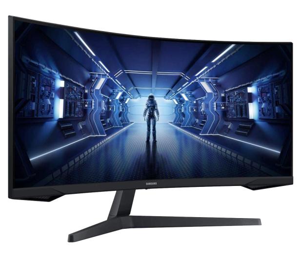 Samsung Odyssey C34G55TWWRX Curved HDR - 635488 - zdjęcie 4
