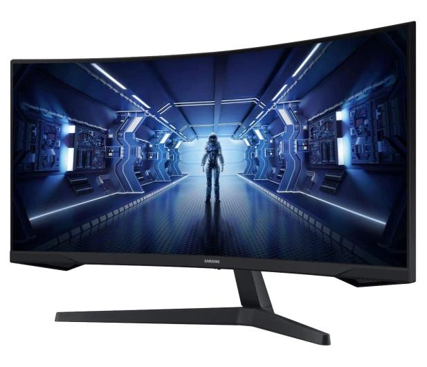 Samsung Odyssey C34G55TWWRX Curved HDR - 635488 - zdjęcie 3