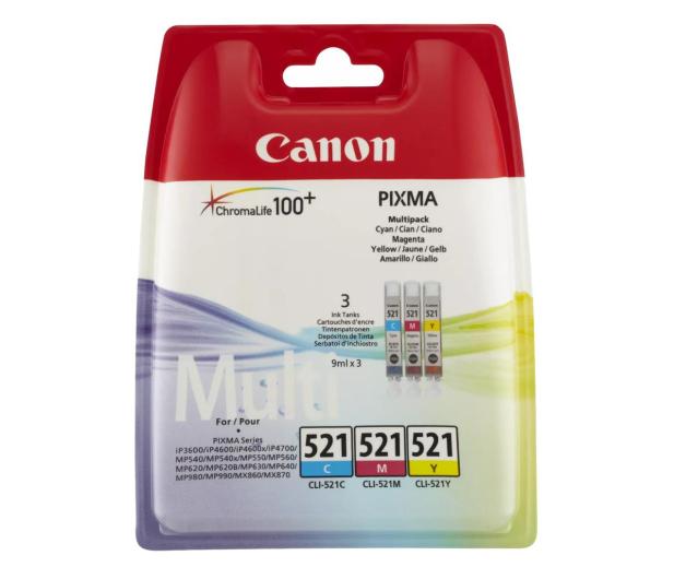 Canon Zestaw CLI-521CMY - 44446 - zdjęcie
