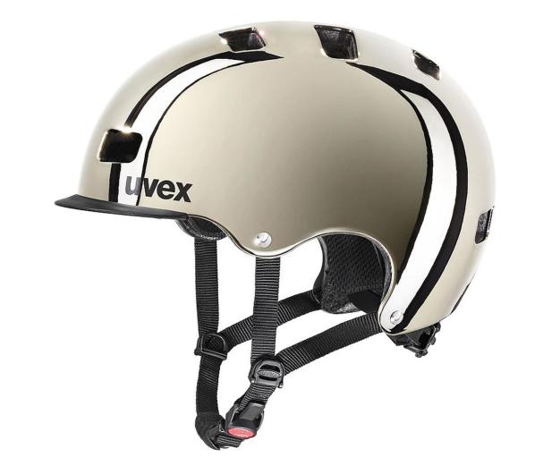 UVEX Kask Hlmt 5 bike pro chrome 58-61 cm - 628370 - zdjęcie