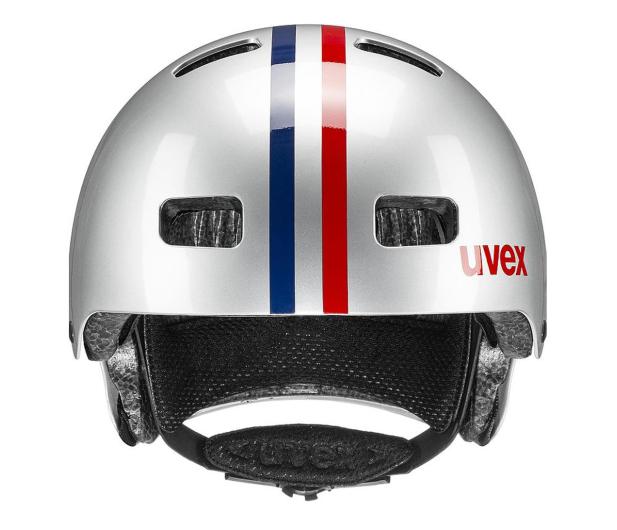 UVEX Kask Kid 3 race srebrny 51-55 cm - 628402 - zdjęcie 2