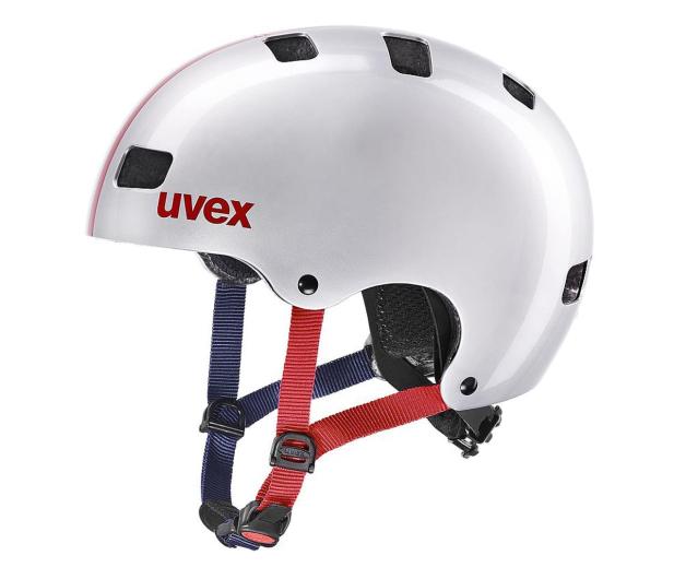 UVEX Kask Kid 3 race srebrny 51-55 cm - 628402 - zdjęcie