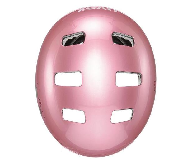 UVEX Kask Kid 3 różowy serca 51-55 cm - 628410 - zdjęcie 4