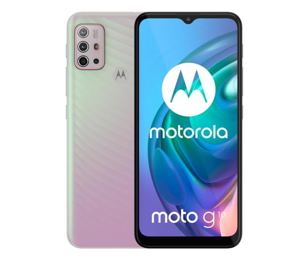 Motorola Moto G10 4/64GB Iridescent Pearl - 632488 - zdjęcie