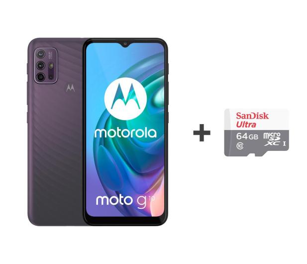 Motorola Moto G10 4/64GB Aurora Gray + 64GB - 632486 - zdjęcie