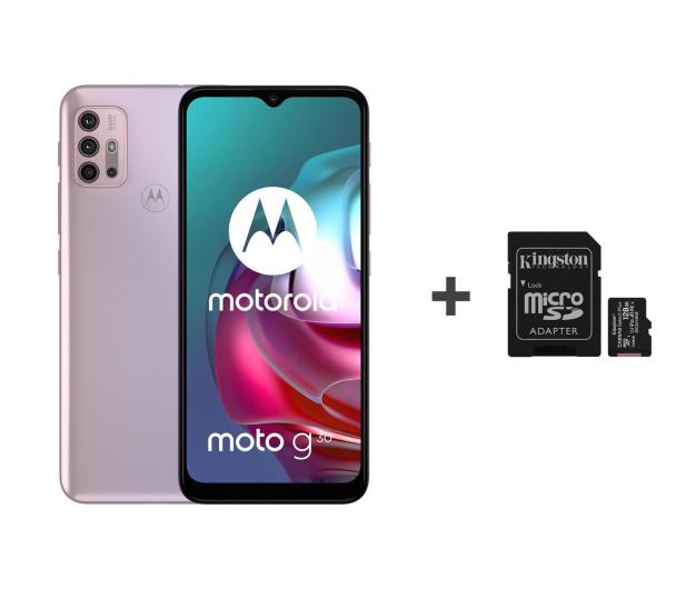 Motorola Moto G30 6/128GB Pastel Sky 90Hz + 128GB - 632498 - zdjęcie