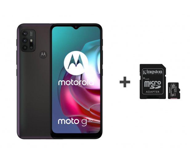 Motorola Moto G30 6/128GB Dark Pearl 90Hz + 128GB - 632497 - zdjęcie
