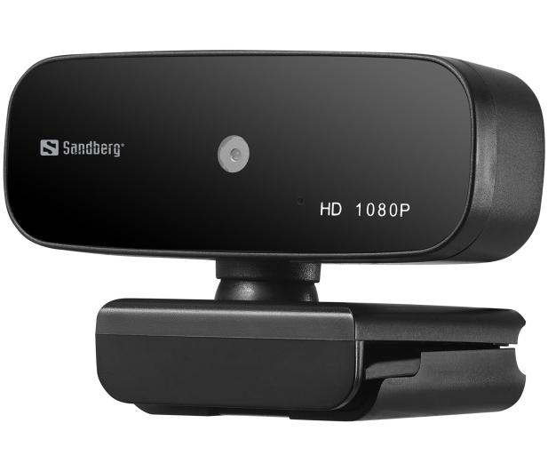 Sandberg USB Webcam Autofocus 1080P HD - 629839 - zdjęcie 2