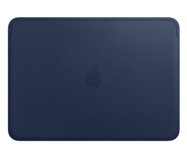 """Apple Skórzany futerał na MacBook Pro   Air 13"""" błękit - 631749 - zdjęcie"""
