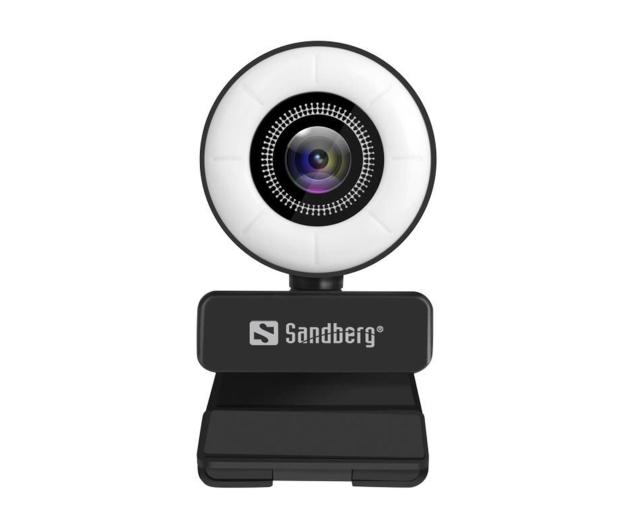 Sandberg Streamer USB Webcam - 629832 - zdjęcie 2