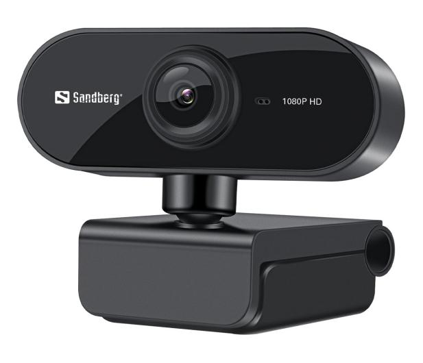 Sandberg USB Webcam Flex 1080P HD - 629819 - zdjęcie