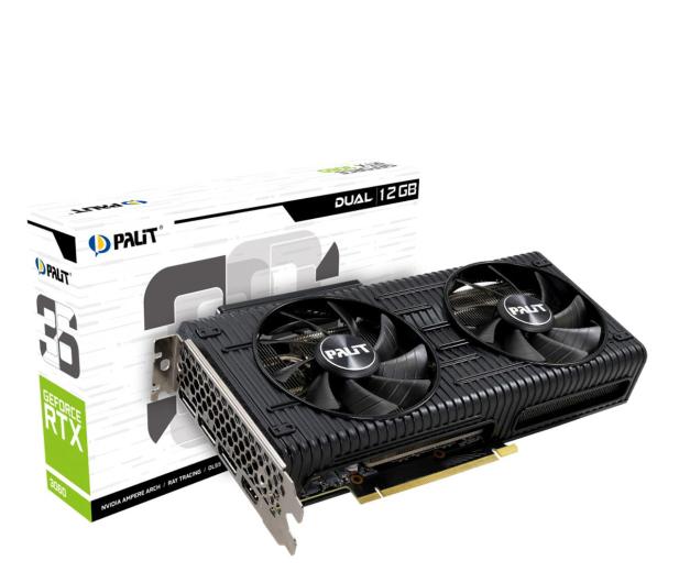 Palit GeForce RTX 3060 Dual LHR 12GB GDDR6 - 633455 - zdjęcie