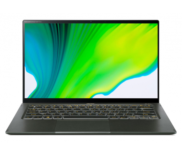 Acer Swift 5 i7-1165G7/16GB/1TB/W10 MX350 Dotyk Zielony - 629828 - zdjęcie 3