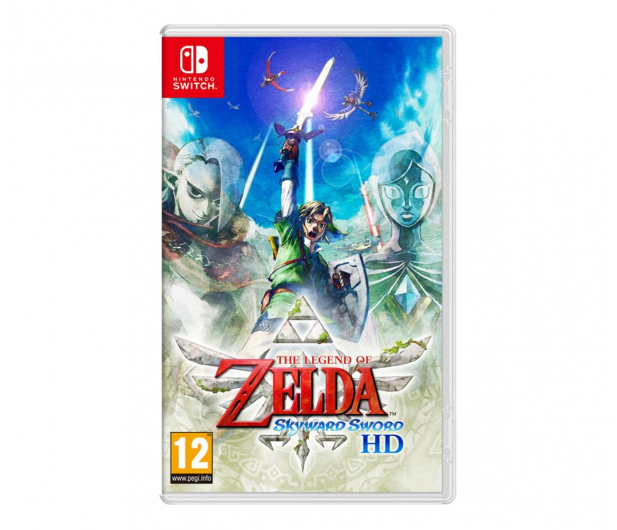 Switch The Legend of Zelda: Skyward Sword HD - 634251 - zdjęcie