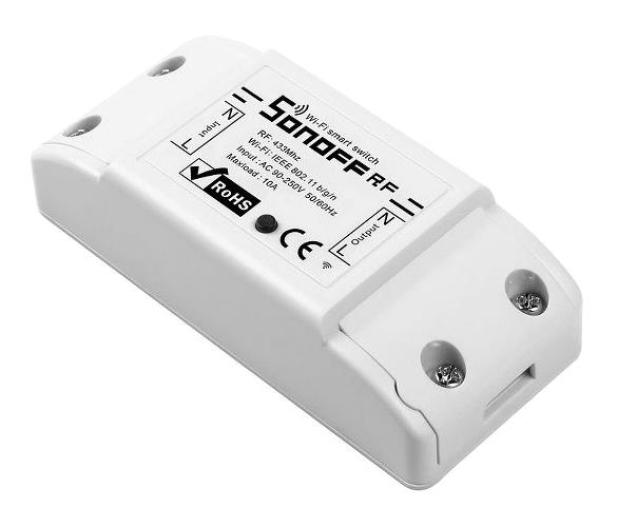Sonoff RF2 Inteligentny przełącznik WiFi + RF 433  - 631919 - zdjęcie 3