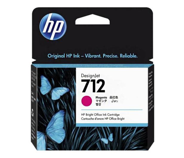 HP 712 3ED68A magenta 29ml - 633445 - zdjęcie