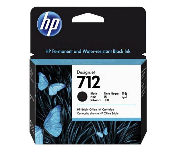 HP 712 3ED71A black 80ml - 633444 - zdjęcie