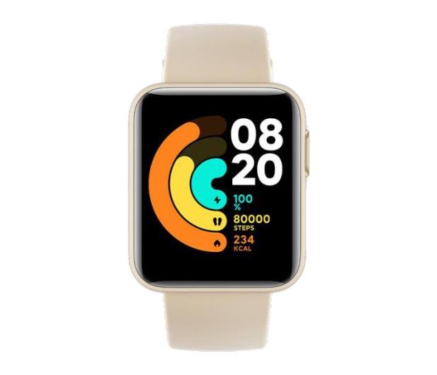 Xiaomi Mi Watch Lite Ivory - 626138 - zdjęcie 3