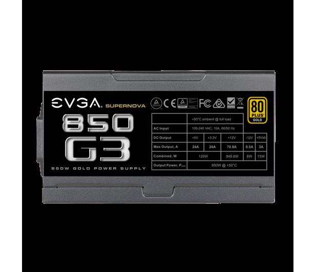 EVGA SuperNOVA G3 850W 80 Plus Gold - 624345 - zdjęcie 5
