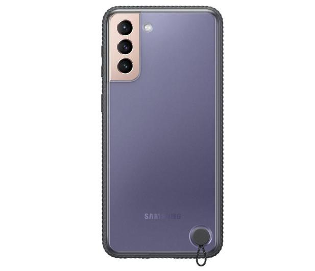 Samsung Clear Protective Cover do Galaxy S21+ Black - 617451 - zdjęcie 3