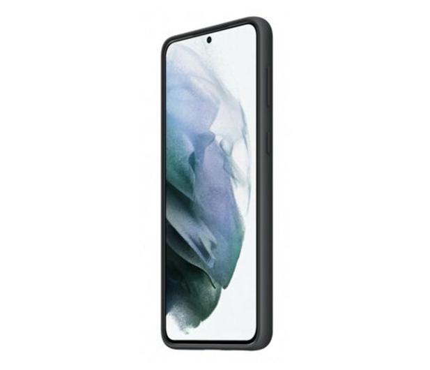 Samsung Silicone Cover do Galaxy S21+ Black - 617438 - zdjęcie 3