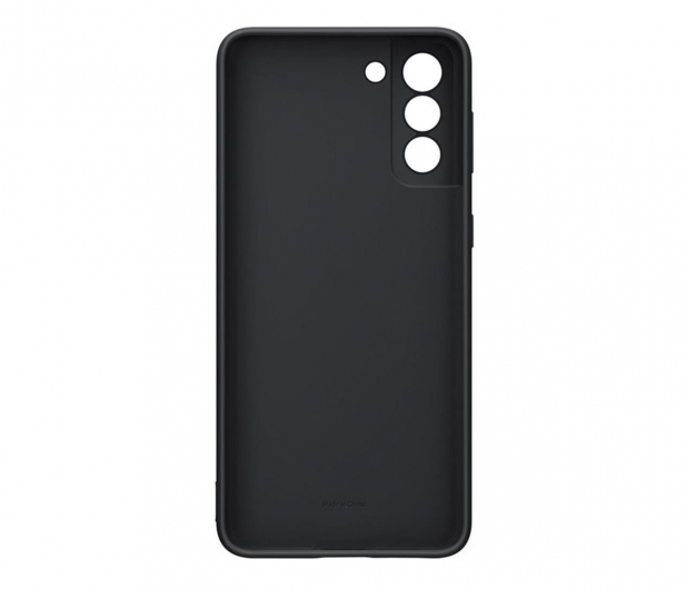 Samsung Silicone Cover do Galaxy S21+ Black - 617438 - zdjęcie
