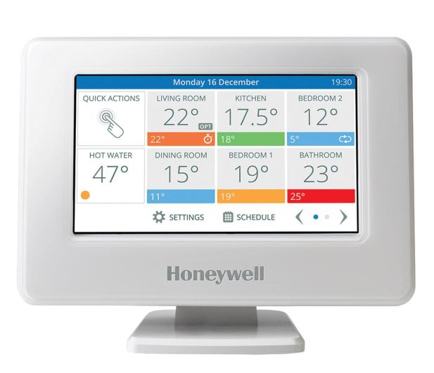 Honeywell Home Evohome Sterownik, podstawa, zasilacz - 623962 - zdjęcie