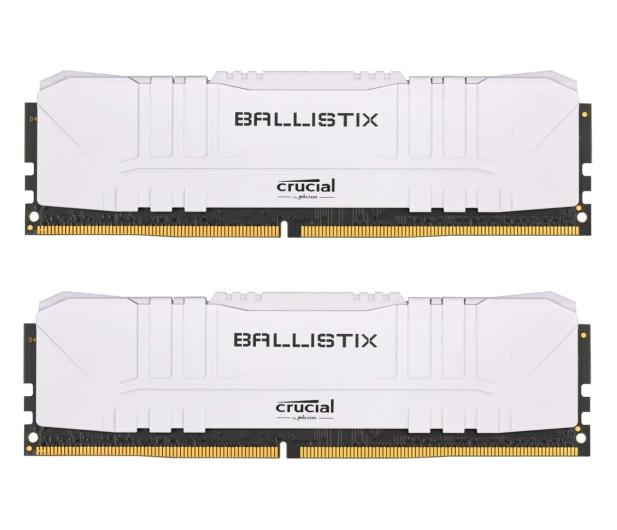 Crucial 32GB (2x16GB) 3200MHz CL16 Ballistix White - 632330 - zdjęcie