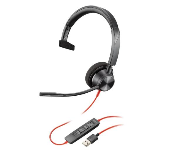 Poly Blackwire 3310 USB-A  - 624545 - zdjęcie