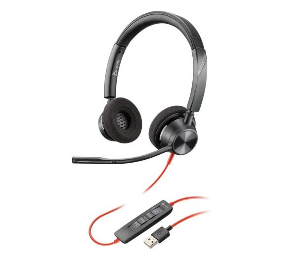 Poly Blackwire 3320 USB-A  - 624552 - zdjęcie