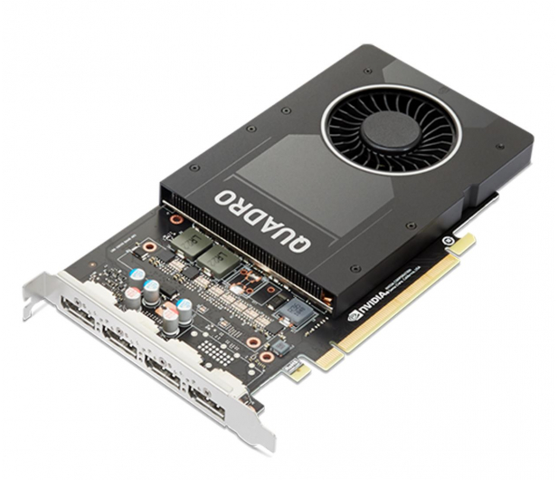 Lenovo Quadro P2200 5GB GDDR5X - 627429 - zdjęcie