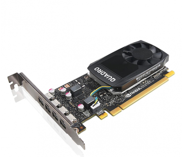 Lenovo Quadro P1000 4GB GDDR5 - 627438 - zdjęcie
