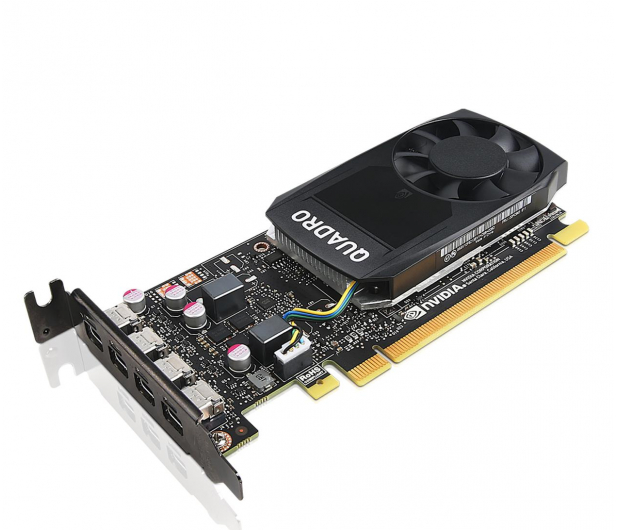 Lenovo Quadro P1000 Low Profile 4GB GDDR5 - 627435 - zdjęcie