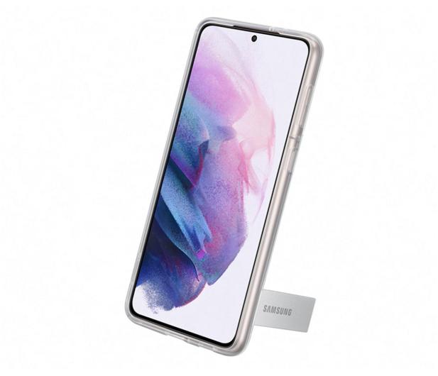 Samsung Clear Standing Cover do Galaxy S21+ - 617455 - zdjęcie 3