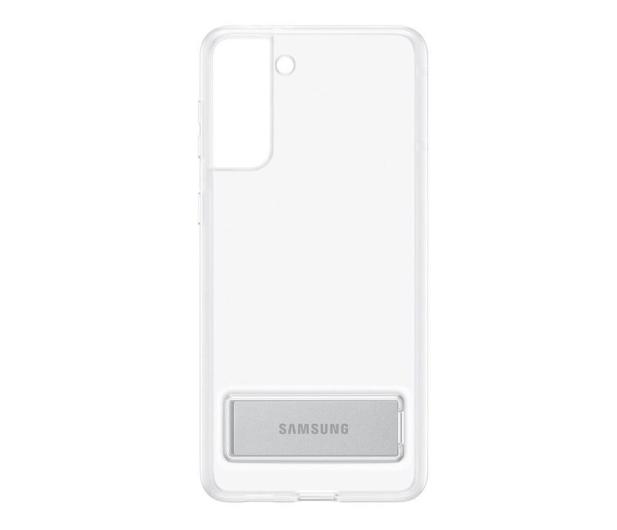 Samsung Clear Standing Cover do Galaxy S21+ - 617455 - zdjęcie