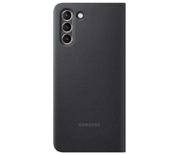 Samsung Clear view cover do Galaxy S21+ Black - 617423 - zdjęcie 3