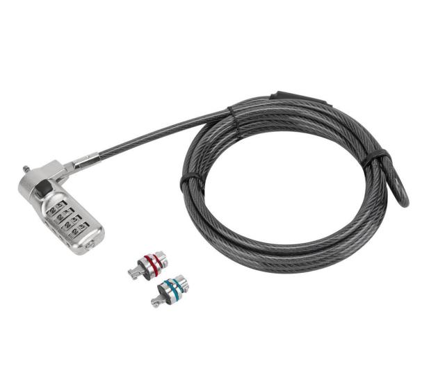 Targus Defcon 3-in-1 Fixed Combination Lock - 624821 - zdjęcie